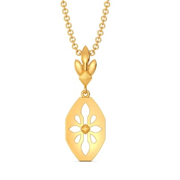 Glam Poise Gold Pendants