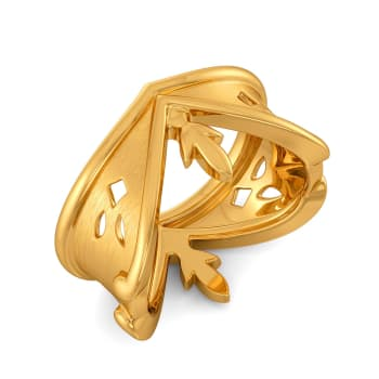 Lace Lacuna Gold Rings