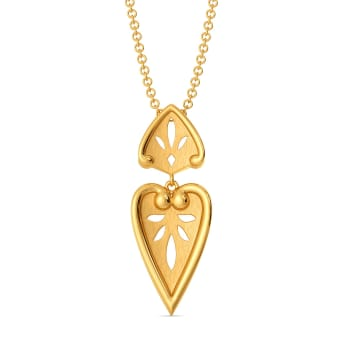 Lace Lacuna Gold Pendants