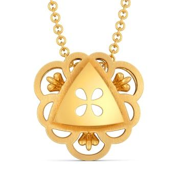 Fancy Nancy Gold Pendants