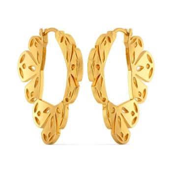 Lacy Stacy Gold Earrings