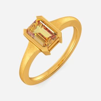 Tan Toned Gemstone Rings