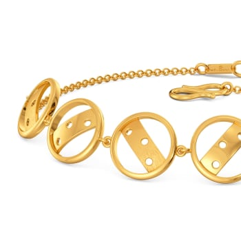 Feisty Reps Gold Bracelets