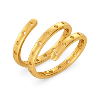 Feisty Reps Gold Rings