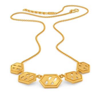 Iconic Humour Gold Necklaces