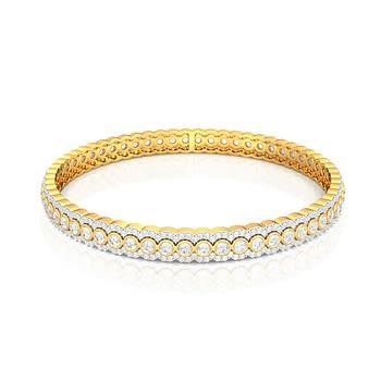 Tiara Diamond Bangles