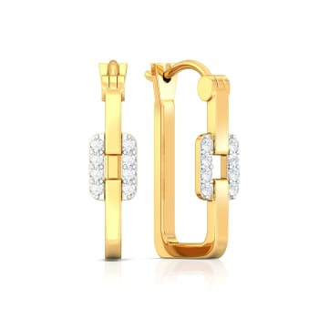 From Here to Eternity Diamond Earrings