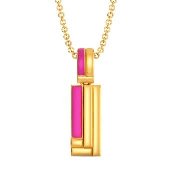 Rave O Pink Gold Pendants