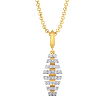 Swank Love Diamond Pendants
