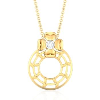 Ring o' Roses Diamond Pendants