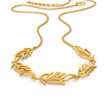 Feather Friends Gold Necklaces