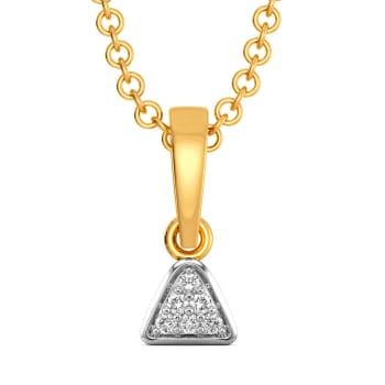 Sober Stride Diamond Pendants