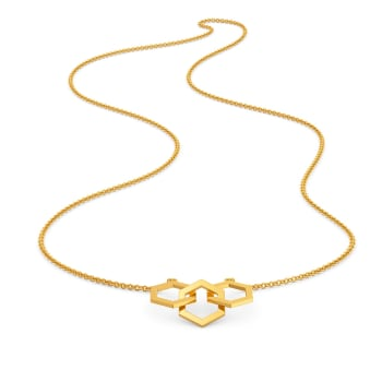 The Six Mix Gold Necklaces
