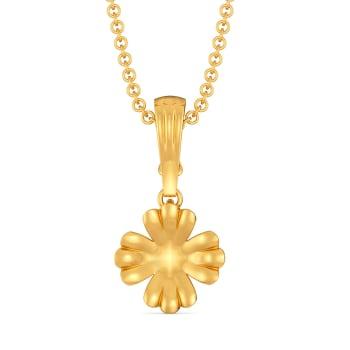 Floral Orates Gold Pendants