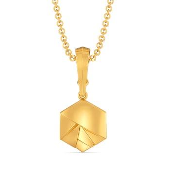 Serenity Trail Gold Pendants