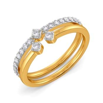 Vivacious Glow Diamond Rings