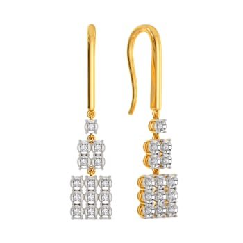 Pomp It Up Diamond Earrings