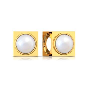 Boxy Beauty Gemstone Earrings