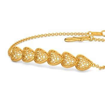 La La Lace Gold Bracelets