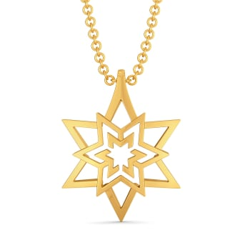 Inter Stellar Gold Pendants