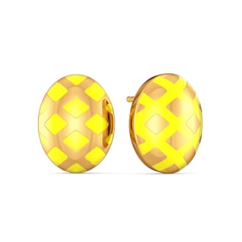 Humble Bumble Gold Earrings