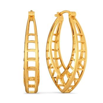 Whims N Fancies Gold Earrings