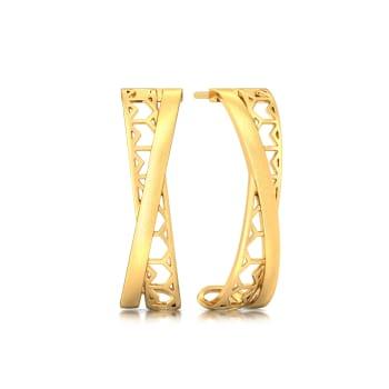 Lace & Grace Gold Earrings