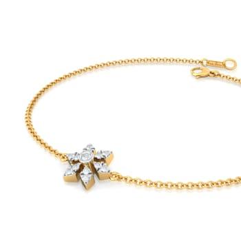 Crochet Cluster Diamond Bracelets