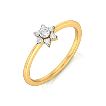Stellar Teller Diamond Rings
