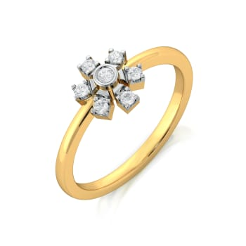 Pin Wheeling Diamond Rings