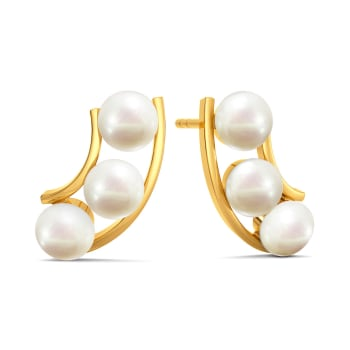 Dot the Line Gemstone Earrings