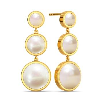 Dot the Polka Gemstone Earrings