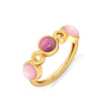 La Vie en Rose Gemstone Rings