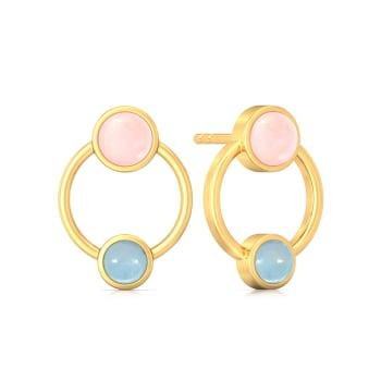 Double Berry Gemstone Earrings