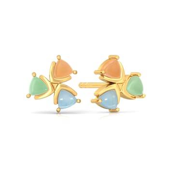 Confetti Cones Gemstone Earrings