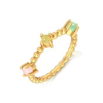 Scoops and Sprinkles Gemstone Rings