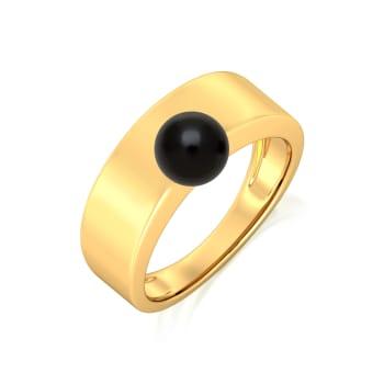 Ball Dance Gemstone Rings