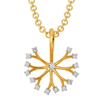 Dandelion Dates Diamond Pendants