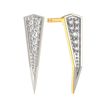 Bold Boardroom Diamond Earrings