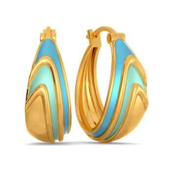 70s Euphoria Gold Earrings