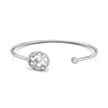 Vasarely Lines Diamond Bangles