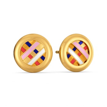 Offbeat Leagues Gold Earrings