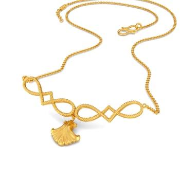 Romanesque Gold Necklaces