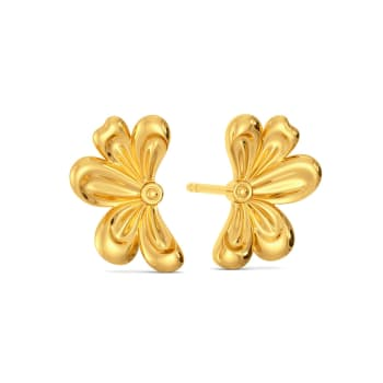 Arch March Gold Earrings