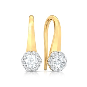Night Star Diamond Earrings