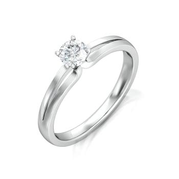 Sassy Solitaire Diamond Rings