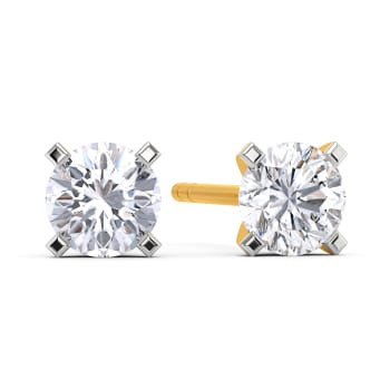 Seize the Solitaire Diamond Earrings