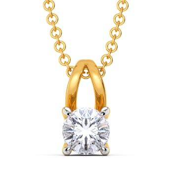 The Poised Path Diamond Pendants