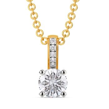Sparkle Spheres Diamond Pendants