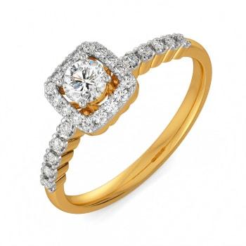 Square Story Diamond Rings